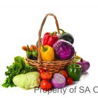 Vegetable basket (plastic)