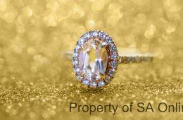 9ct engagement ring