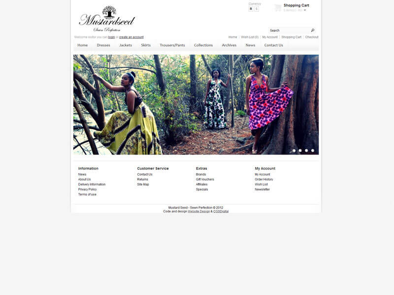 Website Design - Ecommerce Package / Online Store